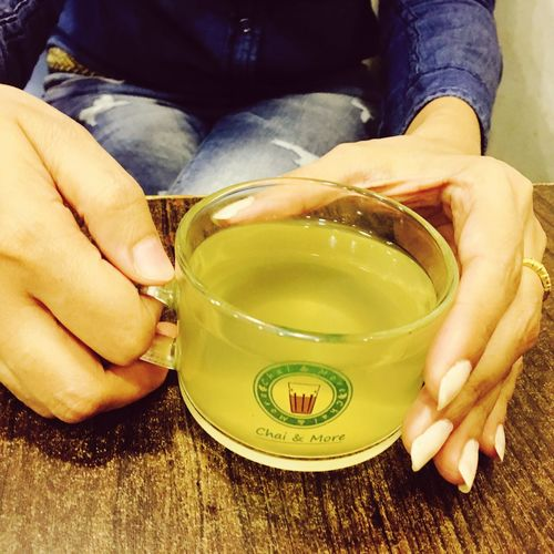 Chai Green Trees Chai Time Healthy Lifestyle Hands In Frame Good Times Hanging Out