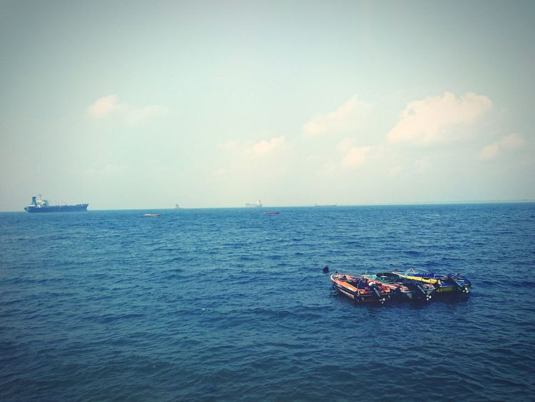 BOATS.. Check This Out Hello World Taking Photo Nature Beach Time Balikpapan EyeEm Indonesia