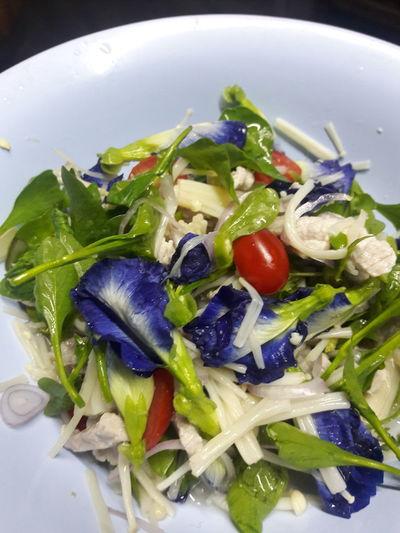 Spicy salad Food Spicy Food Thai Food Spicysalad Cleanfood Floweronfood Colorful
