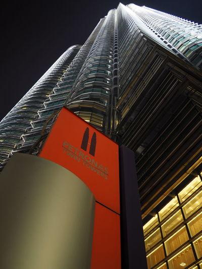 Architecture Suria KLCC Nightshot Kuala Lumpur KLCC Tower Night City
