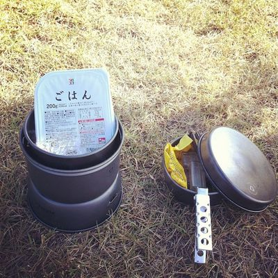 朝食の準備開始( ・`ω・´)キリッ