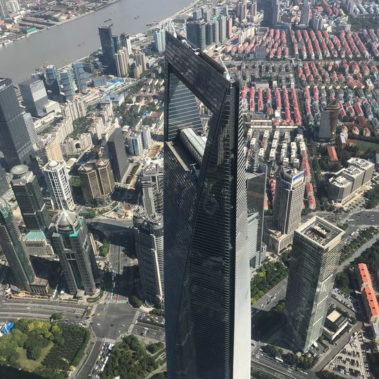 Shanghai... Lovemyjob Travelphotography Work Travel Cityscape Architecture City Skyscraper Building Exterior Aerial View High Angle View City Life Urban Skyline Travel Destinations