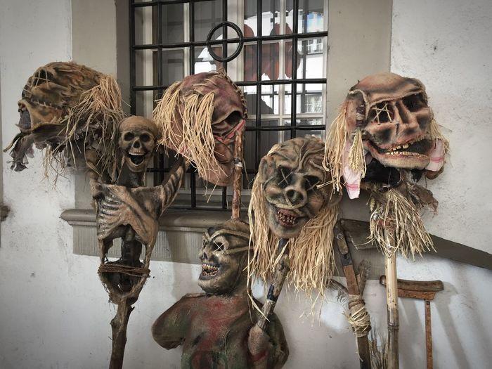 Fasnacht Fasnacht Luzern Scarecrow Mask Carneval Scary Creepy