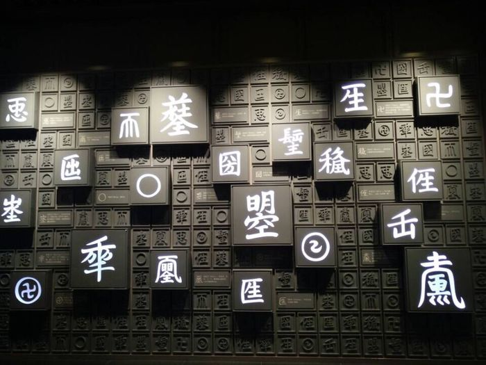 Some ancient Chinese characters which you can guess their meaning from their shapes