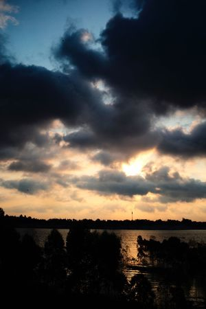 Cloud - Sky Sky Sunset Beauty In Nature Scenics - Nature Tranquility Tranquil Scene
