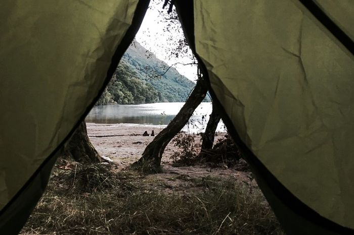 First Eyeem Photo Tent Tentview Lake Camping Nature Outdoor On The Way