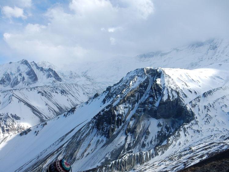 Annapurna Range Mountain Snow Cold Temperature Winter Snowcapped Mountain Weather Sky Mountain Range Cloud - Sky Landscape Deep Snow Dramatic Landscape Geology