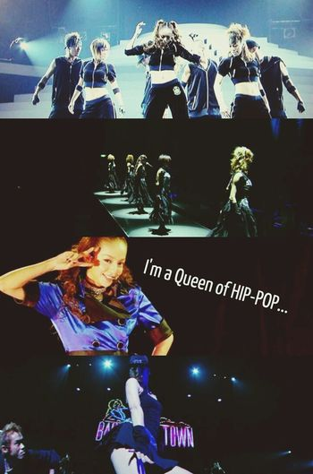 Namie Amuro LIVE STYLE2006,PLAY2007,BestFiction2008-2009 and PLAY2007.