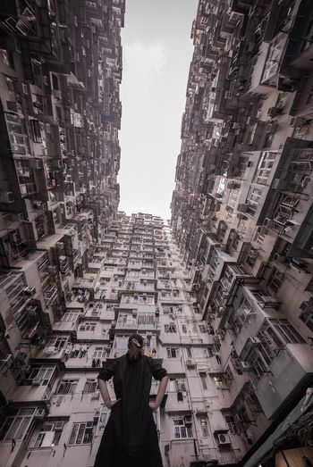 My place my life Architecture Building Exterior Built Structure Real People City Sky The Still Life Photographer - 2018 EyeEm Awards One Person Nature Women Cityscape Tall - High