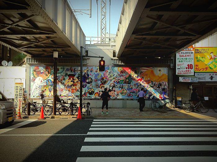 Urban Lifestyle Atom Boy Astro Boy Anime Mural Waiting Stifanibrothers