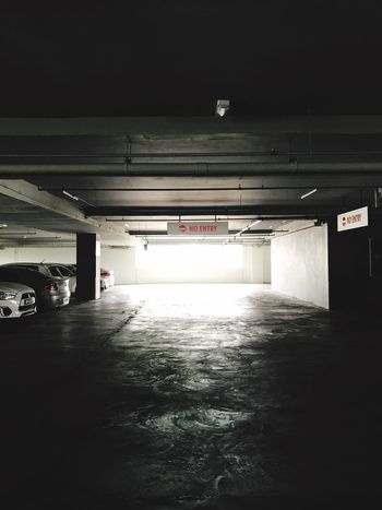 Parking Lot Ceiling Empty Underground Architecture No People Day Built Structure Car EyeEmSelect