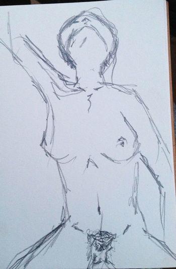Draw Woman Llapis Dibuix