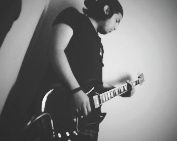Guitarist Gibson SG Metalcoreboy