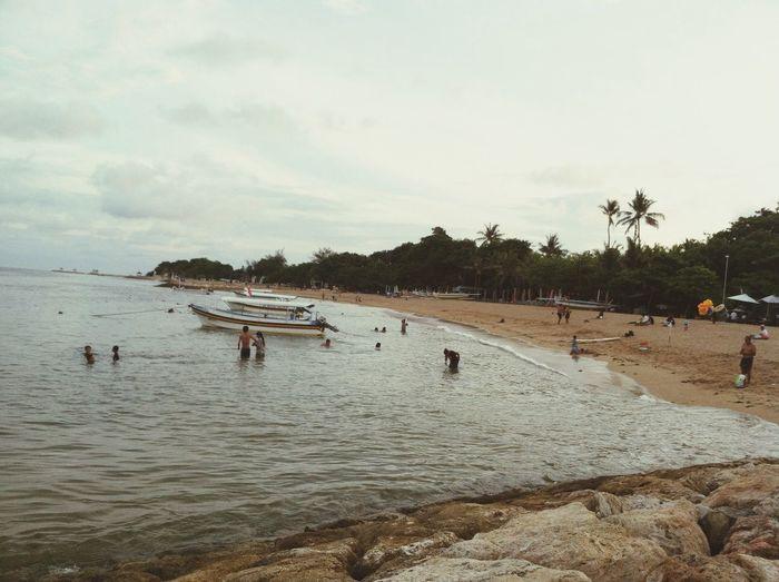 Indahnya pantai sanur bali