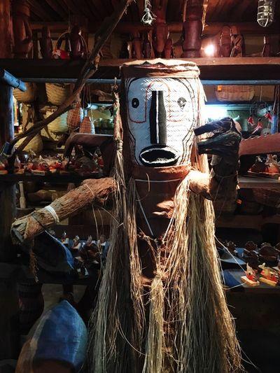 Venezuela Mask Piaroa Arte Aborigen Aboriginal Art Aboriginal Arte Indígena Indoors  Hanging Day No People