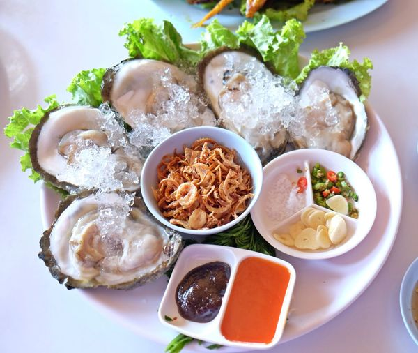 Bowl Close-up Food Freshness Indulgence Meal No People Oyster  Plate Ready-to-eat Served Serving Size Still Life Suratthani Temptation Thailand