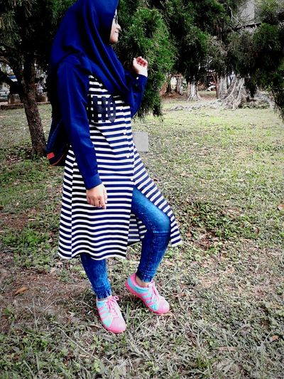 AtCibodas BlueBlueBlue! Hijabgirl Hijab Nabila Rahmadiani Love ♥ Sweet♡ Bontangcity Fun INDONESIA LophLoph