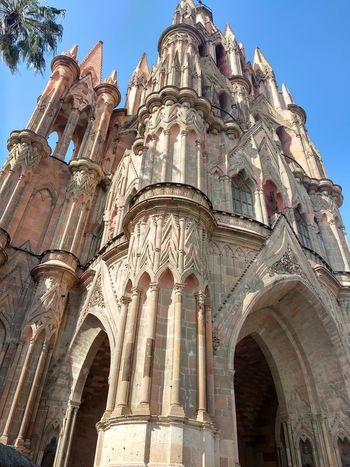 San Miguel de Allende, México Church Mexico Religion Gothic Style