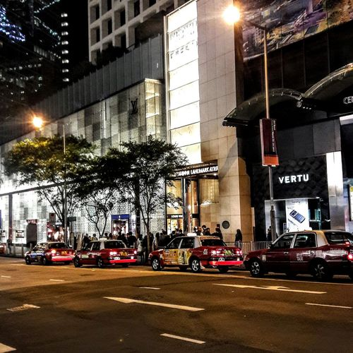 Street Transportation Car Tree Illuminated Architecture Building Exterior Night Outdoors Streetphotography Cityscape Pedderstreet Central