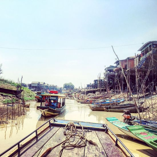 Siem Reap Series - Tonle Sap during dry season! TripAdvisor Travelgram Cambodia Siemreap Tonlesap