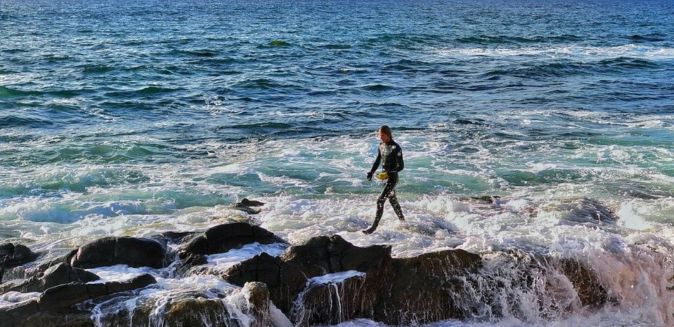 Leisure Activity Lifestyles Water Lost In The Landscape Surfing Outdoors Sea Nature Sport One Person La Jolla Cove California Perspectives On Nature Rethink Things Be. Ready. Lifestyle An Eye For Travel Shades Of Winter This Is Masculinity California Dreamin