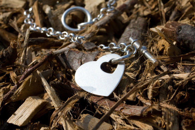 Bracelet Love Close-up Cold Heart Heart Heart Shape Jewelry Close Up Metal Heart Nature And Human Wood And Metal The Week On EyeEm EyeEmNewHere Doni Lieblingsteil Long Goodbye