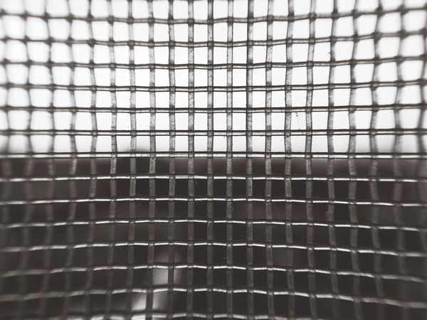 Mosquito Pattern Backgrounds Full Frame Indoors  Close-up No People Textured  Day Chainlink Fence Net Wire Mesh Sky