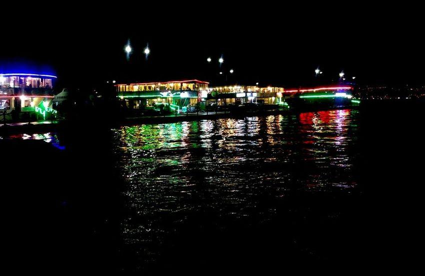 #bright4 #colourful #lights #Night #ship And Restaurant #sunset #sun #clouds #skylovers #sky #nature #beautifulinnature #naturalbeauty #photography #landscape #TURKEY/Kocaeli