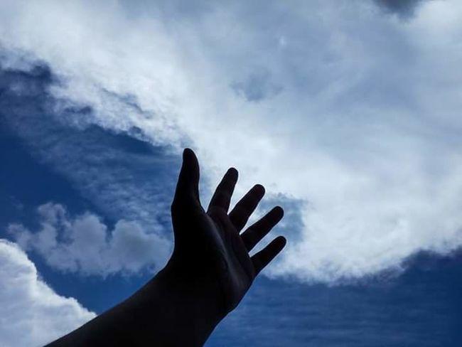 Photography Photo EyeEm Silhouette Hand Mãos
