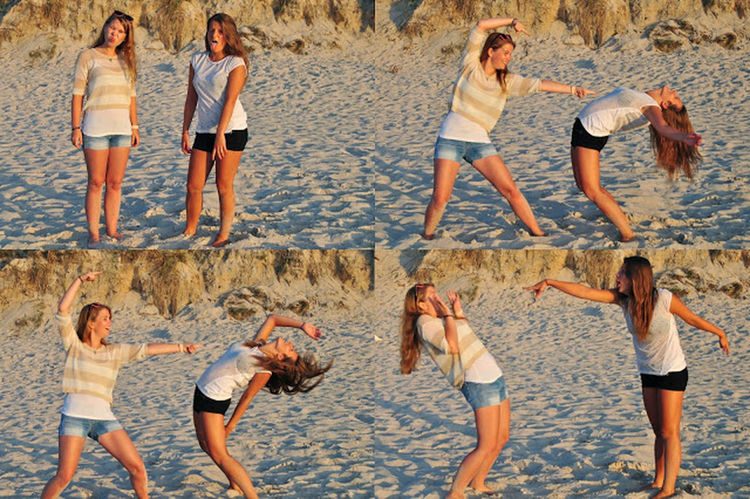 Bestfriends <3 Beach Photography Great Time Together ;)