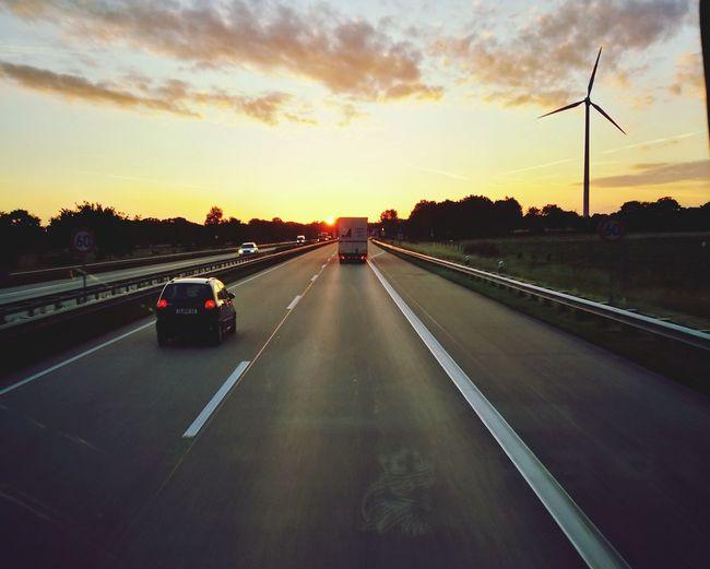 Transportation Landscape Sunset Beauty In NatureBremen