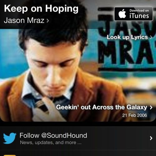 Jason Mraz Beautiful Song iThere Is Always Hope Keep On Hoping