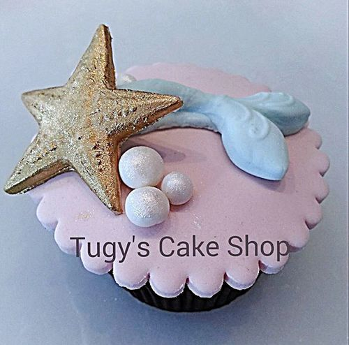 Cupcakes Fish Pearls Stars Cupcake Chocalate Boutique Boutiquecake Happy Love Gifts ❤ TugysCakeShop