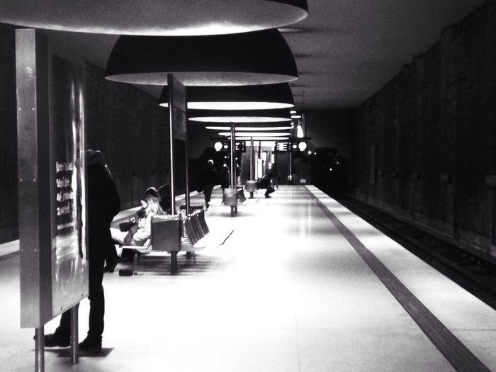 Munich subway 2016 In Pictures Munich Subway Urban Blackandwhite Westfriedhof