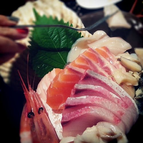 Great Sashimi...