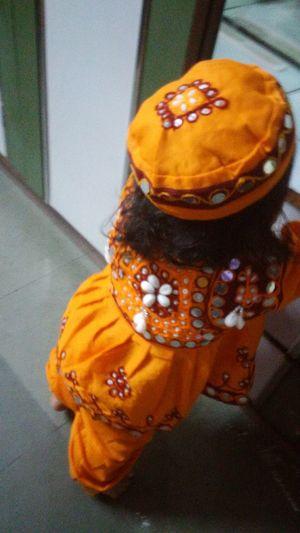 Close-up Indoors  No People Day Navratri Dandiya Dance Clothes Dance Costume Baby