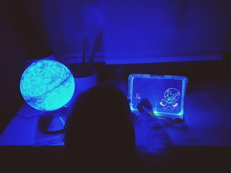black light Child Childhood Blacklight Indoors  Human Body Part Adult