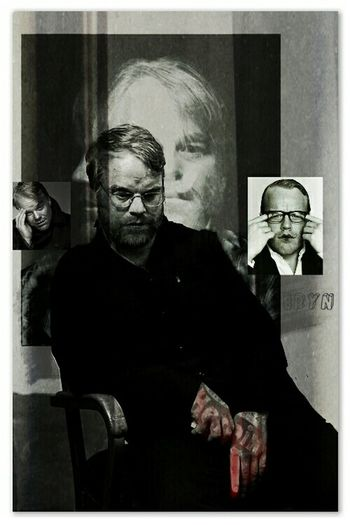 Will forever be missed. Philip Seymour Hoffman DrugAddiction Photo Manipulation Collage Digital Art Double Exposure Digital Collage Pixlr Constructivism Blackandwhite