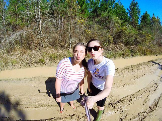 Mud War Paint and Sunshine☀️ Cousins  SundayFunday Muddin Florida Florida Life Fourwheeling Gopro