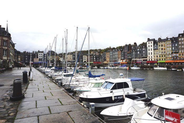 Honfleur Honfleur, France Vieux Port RainyDay France Normandie