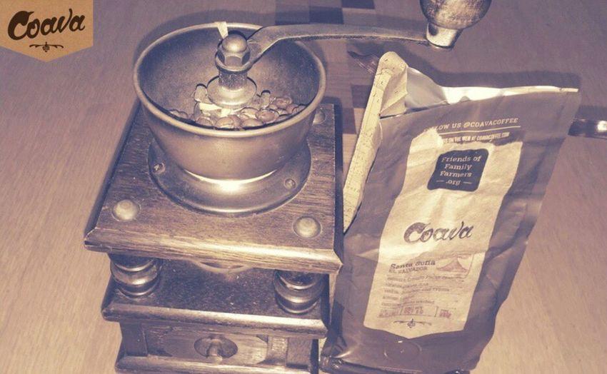 coavaの珈琲をようやく挽く CoavaCoffee Coffee Oregon Portland Portland, OR USA