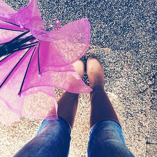 Raining Rain Boot HongKong Enjoying Life Love That's Me Taking Photos