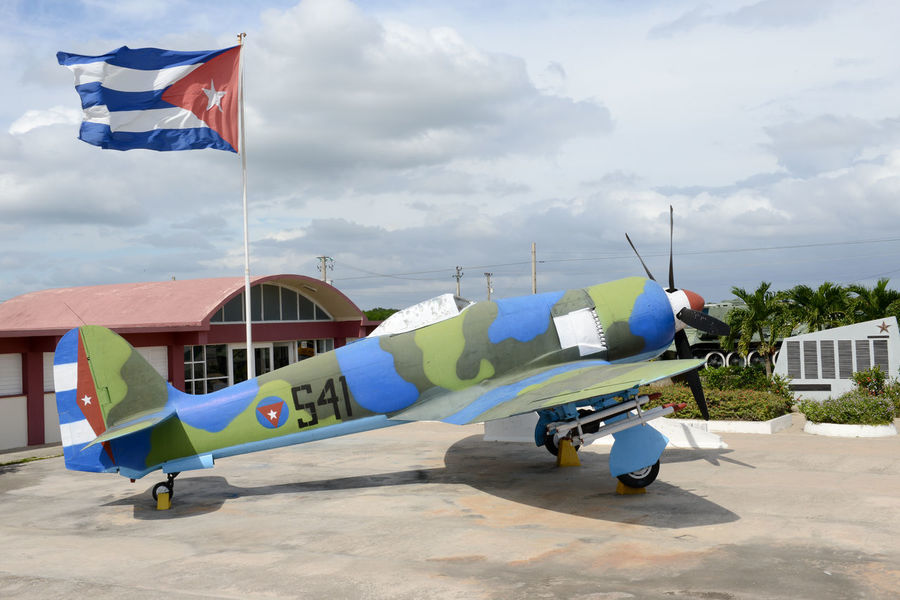 Bay Of Pigs Cuba Airplane Architecture Cloud - Sky Day Flag Girón Nature No People Outdoors Patriotism Sky