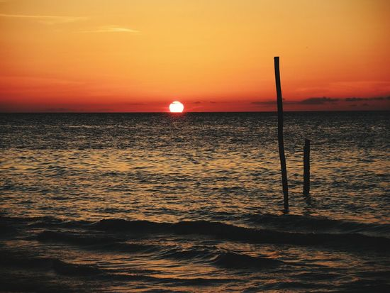 EyeEm Selects sea Sunset Holbox Island Mexico first eyeem photo