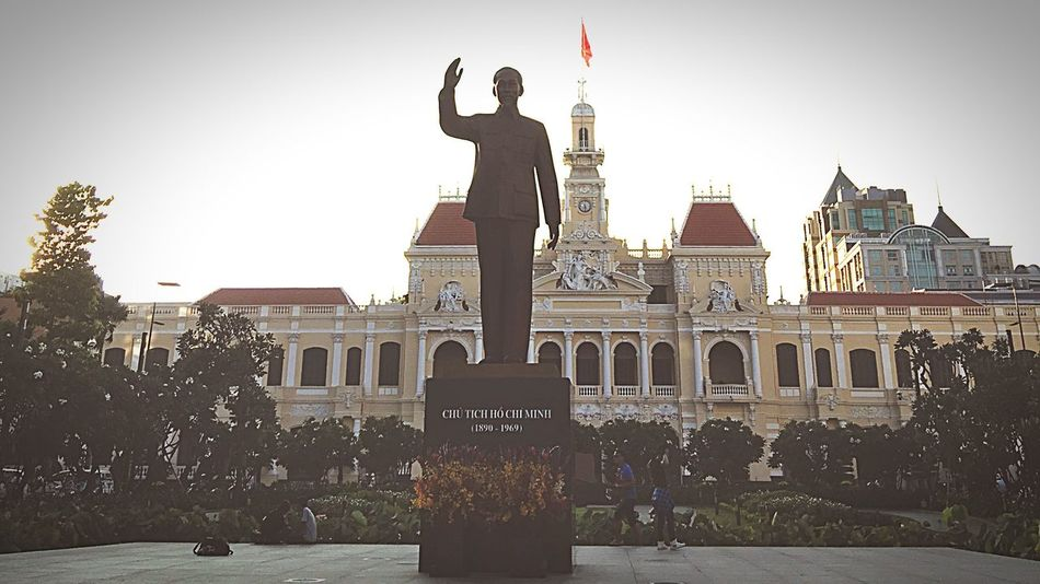 Ho Chi Minh City Ho Chi Minh Leader The People Committee Communism Uncle Ho Afternoon Taking Photos Citiesworldwide My City Is Beautiful Vietnam