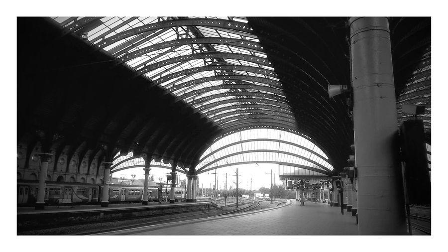 York Railway Station Train Architecture Black And White Railway Station York The Architect - 2017 EyeEm Awards