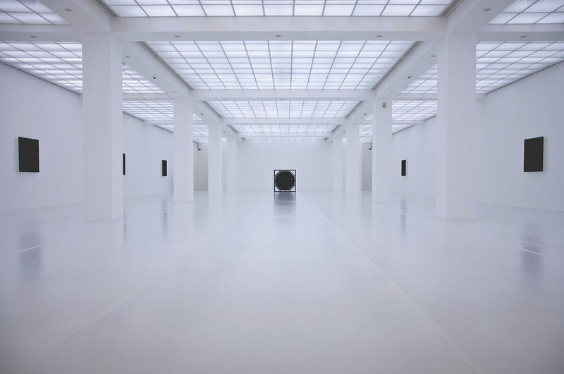 White Room Light Architecture Art Blackandwhite Indoors  Modern No People Reflections