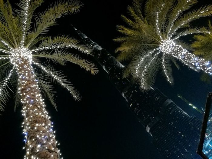 Fountain show at Dubai, looking up to Burj Khalifa. Eyeemphoto EyeEm Best Shots Fountain Show Emaar Girls Views Palm Trees Burj Khalifa Mydubai Vacation Ferien 2016 Arab World Lookup