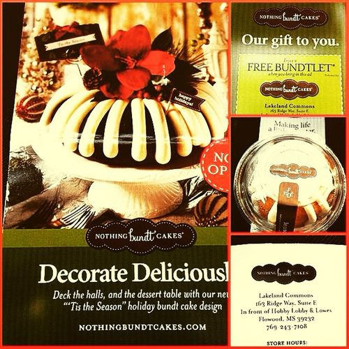 The absolute best bundt cake Eva Happy Holidays ???⛄️❄️??? Nothingbunditcakes