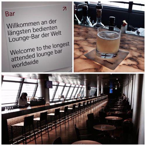 Whisky Sour an der längsten bedienten Lounge-Bar der Welt! #visitZurich